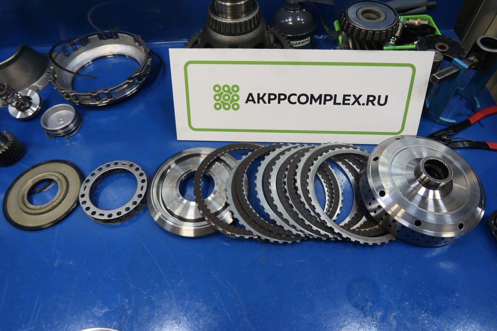 фрикционные диски и поршни ремонт вариатора