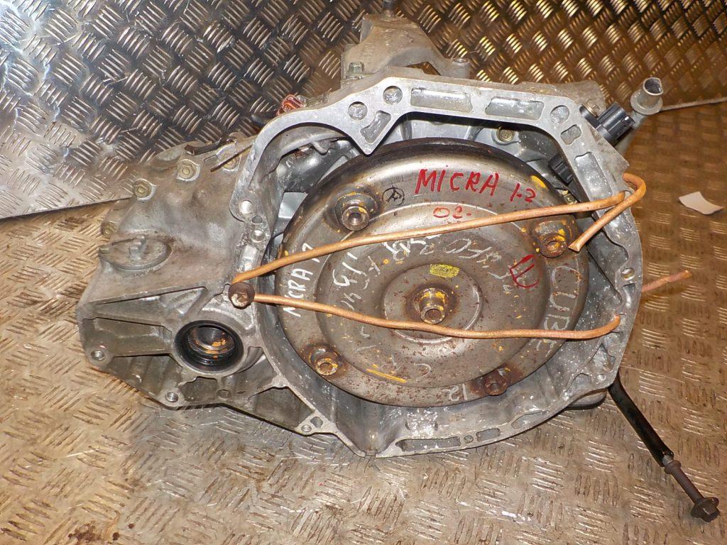 Ремонт АКПП Nissan Micra в Санкт-Петербурге
