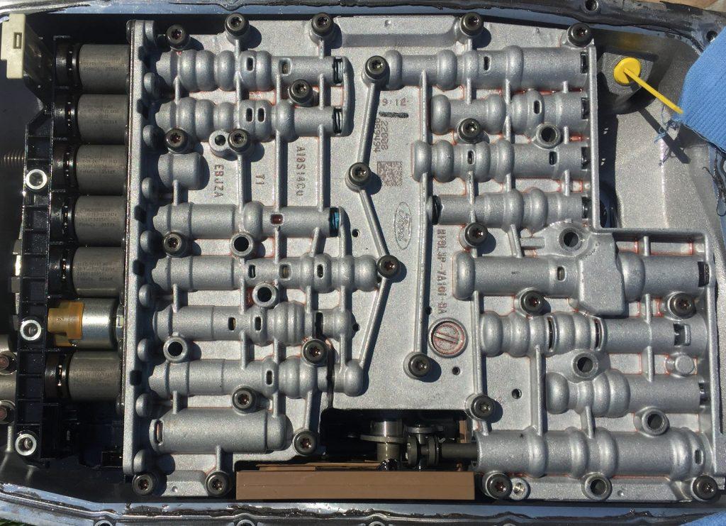 6HP26 гидроблок