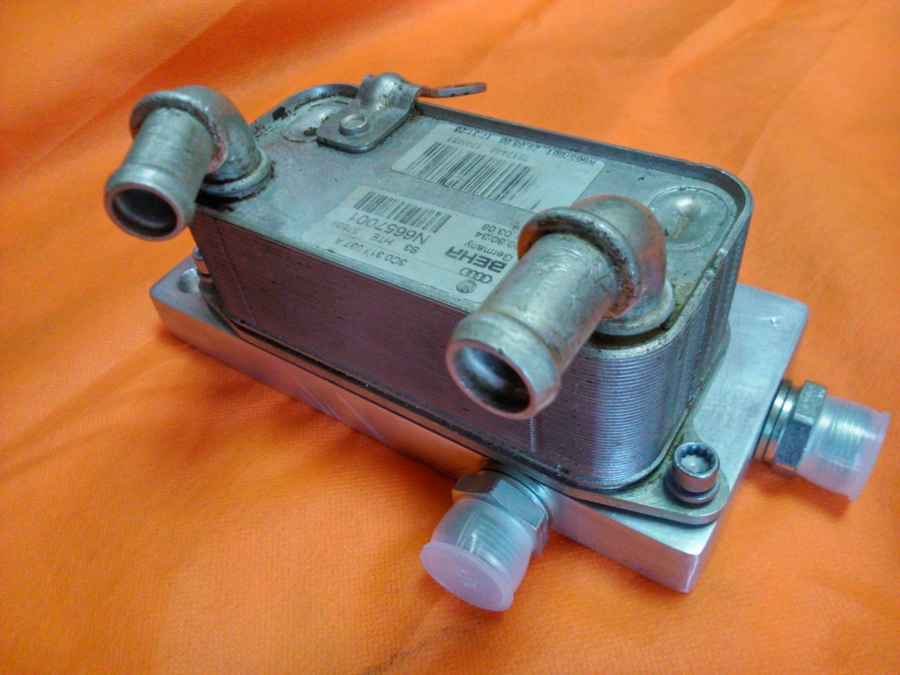 ремонта АКПП 09g внешний теплообменник