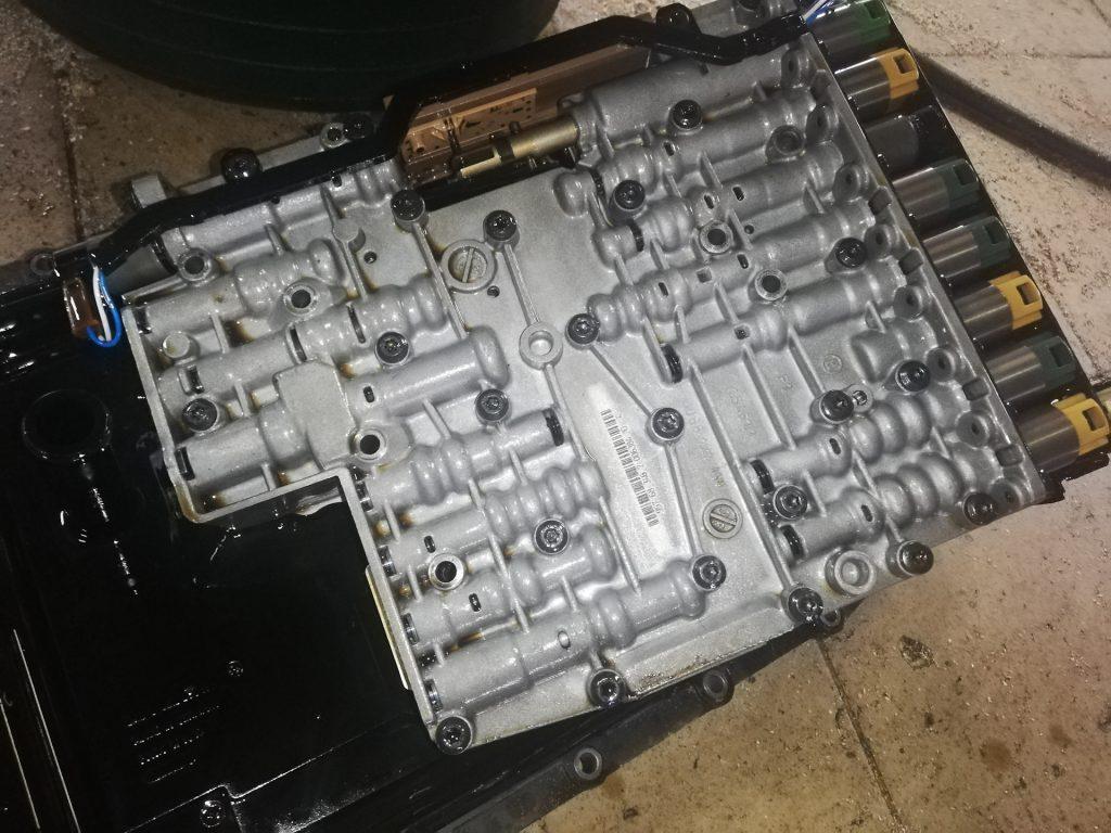 Ремонт АКПП Ауди КУ7 6HP32 запчасть