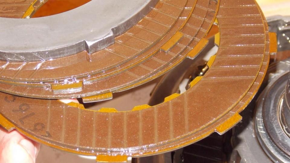 Ремонт АКПП DP0 AL4 диски