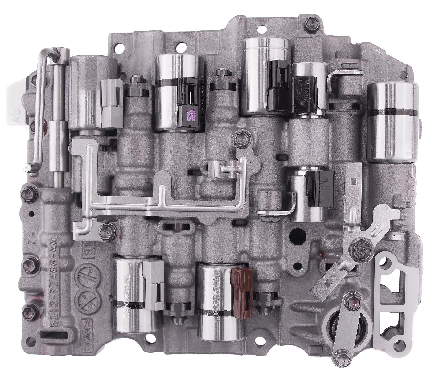 Ремонт АКПП TF-80SC - 81SC гидроблок