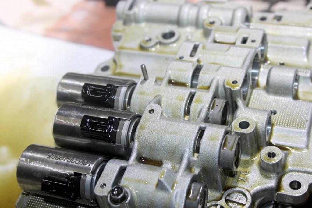 АКПП TF-80SC — 81SC гидроблок