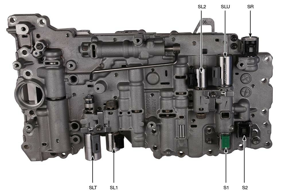 A750E гидроблок