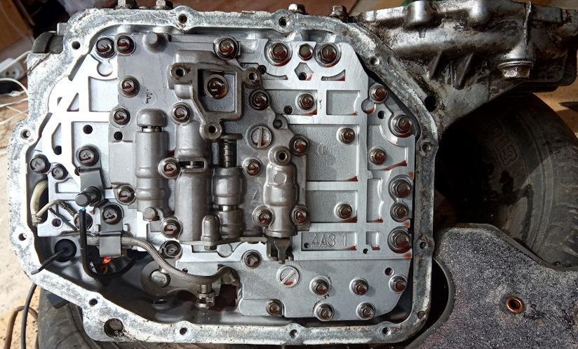 F4A21 гидроблок