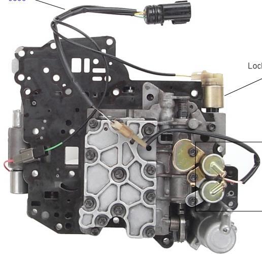 A540E гидроблок