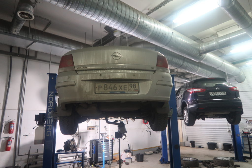 Opel Astra ремонт акпп