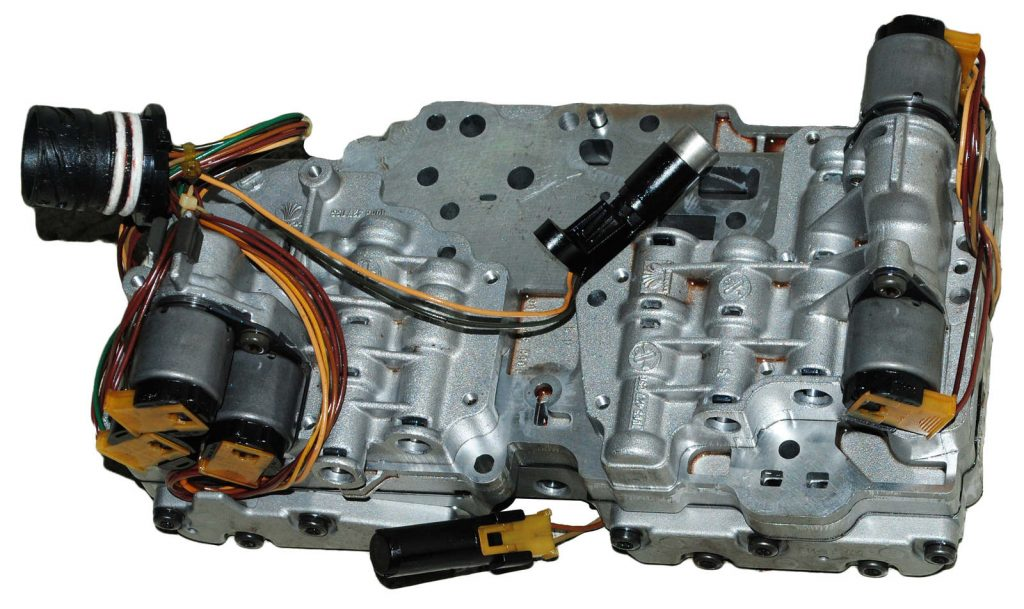 АКПП 4HP16 гидроблок